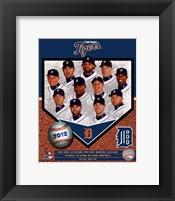 Framed Detroit Tigers 2012 Team Composite