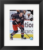 Framed R.J. Umberger 2011-12 Action
