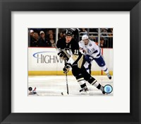 Framed Jordan Staal 2011-12 Action