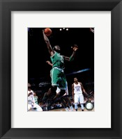 Framed Kevin Garnett 2011-12 Action