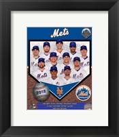 Framed 2012 New York Mets Team Composite