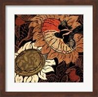 Framed Sunflower Series #14