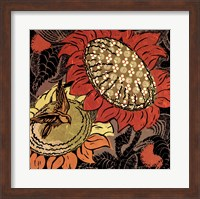 Framed Sunflower Series #37