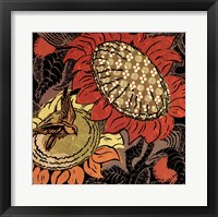 Framed Sunflower Series #37