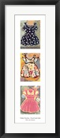 Framed Good Little Girls: Darla, Lulu, Maryann
