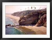 Framed Montage Beach