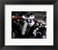 Framed Torrey Smith Touchdown AFC Championship Game Spotlight Action