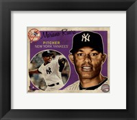 Framed Mariano Rivera 2012 Studio Plus