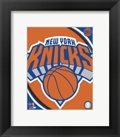 Framed New York Knicks 2012 Team Logo