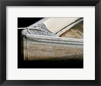 Framed Wooden Rowboats IV