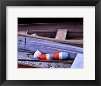 Framed Wooden Rowboats XIV
