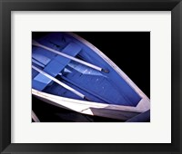 Framed Wooden Rowboats XVI