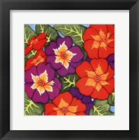Framed Flower Fiesta I