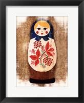 Framed Nesting Dolls II