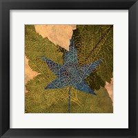 Framed Tea Leaf II