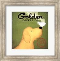 Framed Golden Dog Coffee Co.