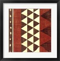 Framed Patterns of the Savanna I