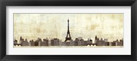 Framed Eiffel Skyline