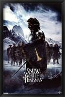 Framed Snow White - Shield