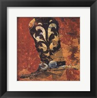 Framed Cowboy Boot I