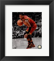 Framed Kyrie Irving 2011-12 Spotlight Action