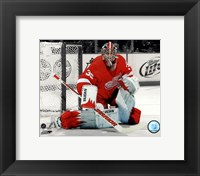 Framed Jimmy Howard 2011-12 Spotlight Action