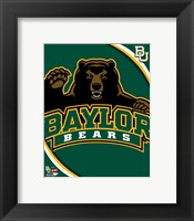 Framed Baylor University Bears 2012 Logo