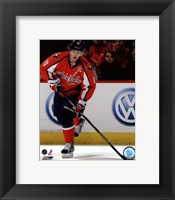 Framed Nicklas Backstrom 2011-12 Action