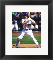 Framed Daniel Murphy 2012 Action