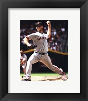 Framed Madison Bumgarner 2012 Action