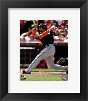 Framed Giancarlo Stanton 2012 batting