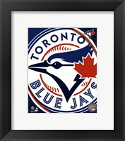 Framed Toronto Blue Jays 2012 Team Logo