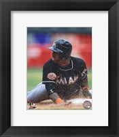 Framed Jose Reyes 2012 Action