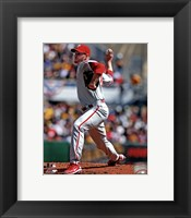 Framed Roy Halladay 2012 Action