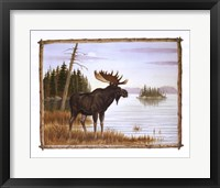 Framed Mighty Moose