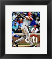 Framed Jay Bruce 2012 Action
