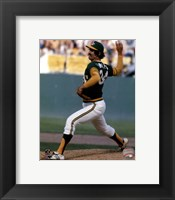 Framed Rollie Fingers Action