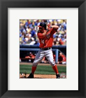 Framed Bryce Harper 2012 Action