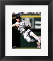 Framed Gordon Beckham 2012 Action