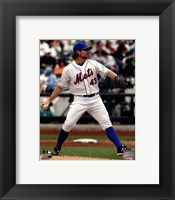 Framed R.A. Dickey 2012 Action