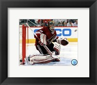 Framed Mike Smith 2011-12 Playoff Action