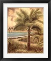 Framed Island Palm II
