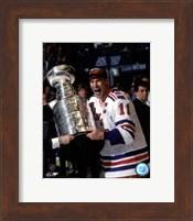 Framed Mark Messier 1993-94 Stanley Cup Celebration