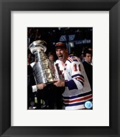 Framed Mark Messier 1993-94 Stanley Cup Celebration