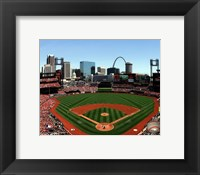 Framed Busch Stadium 2012