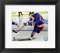 Framed Mark Messier Action