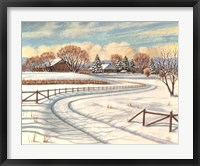 Framed Winter Scene I