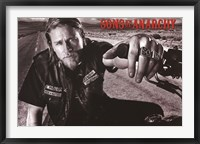Framed Sons of Anarchy - Jackson