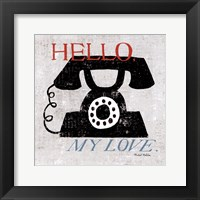 Framed Vintage Desktop - Phone