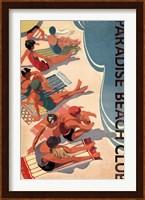 Framed Paradise Beach Club